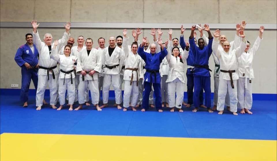 Interreg Judo Veterans Training - 07.02.2020