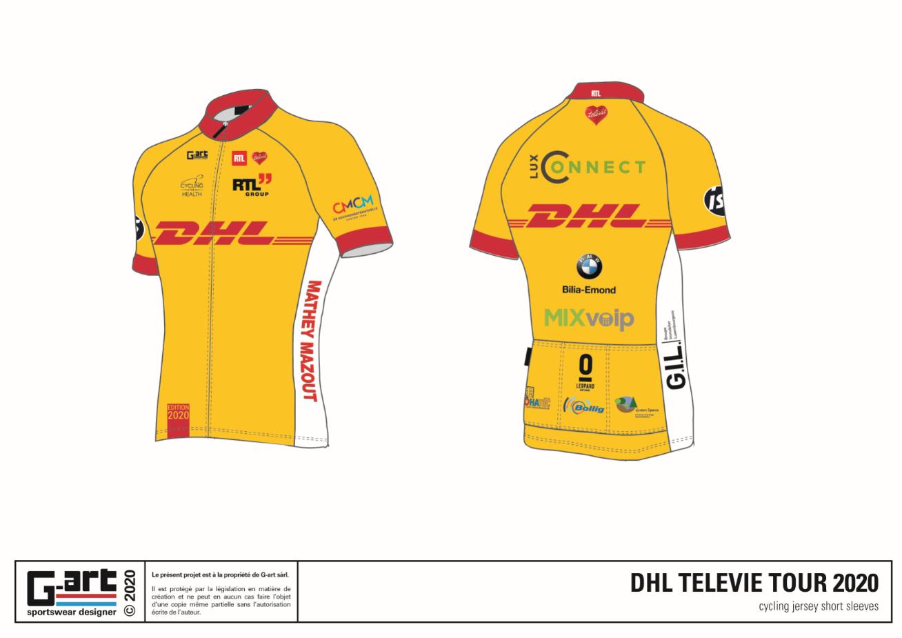 Tenue DHL Télévie Tour 2020