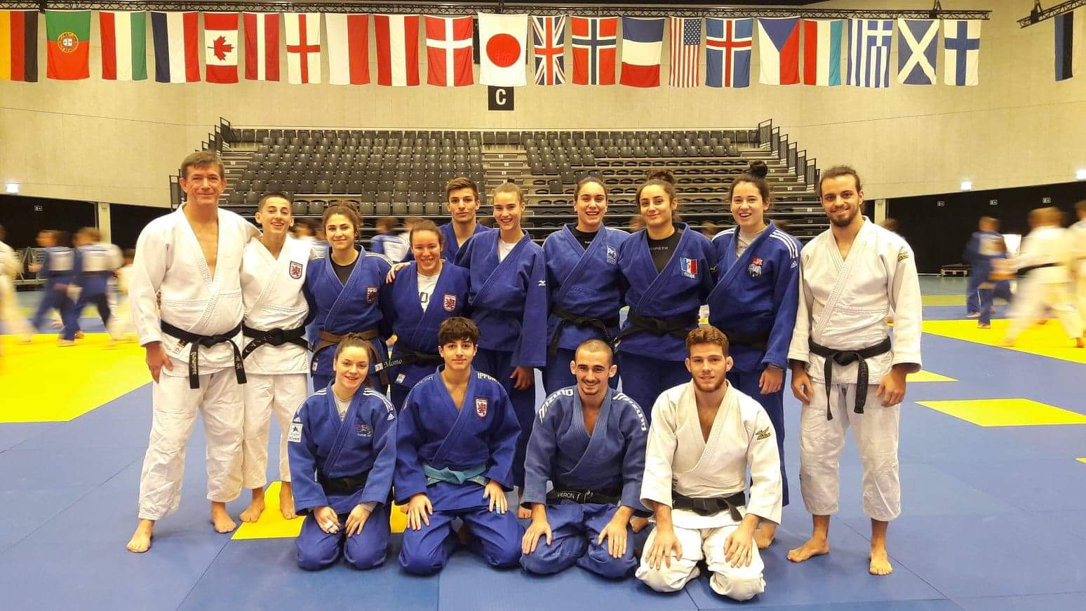 Interreg Judo Team - Danish Open Vejle 08-11.02.2020