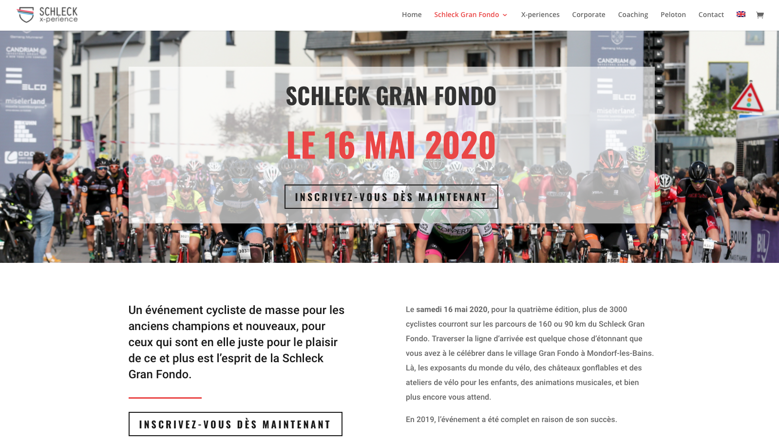 Cycling For Health soutien le Schleck Gran Fondo
