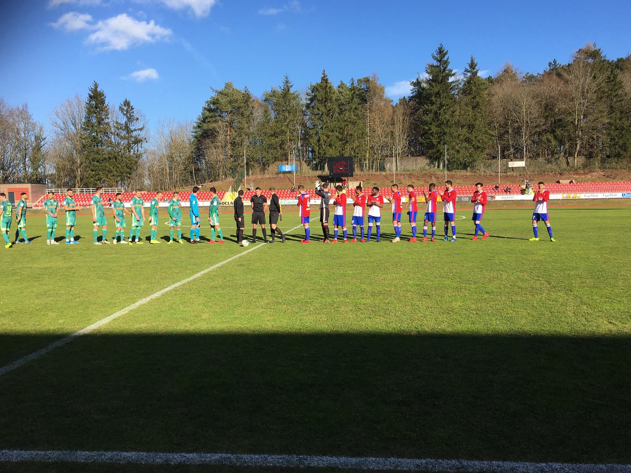 CS FOLA - FC HOMBURG 0-5 (0-4) répétition générale complétement ratée