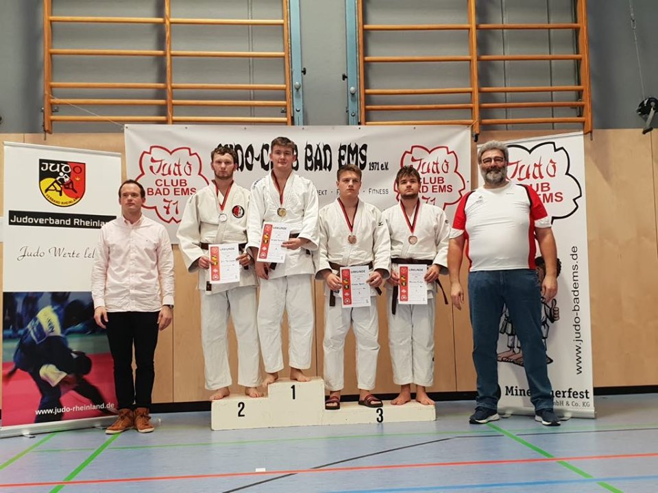 Doppel-Südwestmeister U18 und U21: Sergey Guralskiy vom Judo Kenshi Homburg-Erbach