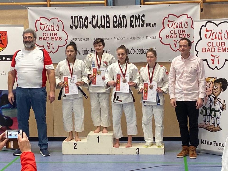 4x Gold und 4x Bronze bei den Südwestdeutschen Meisterschaften U18 / U21 in Bad Ems