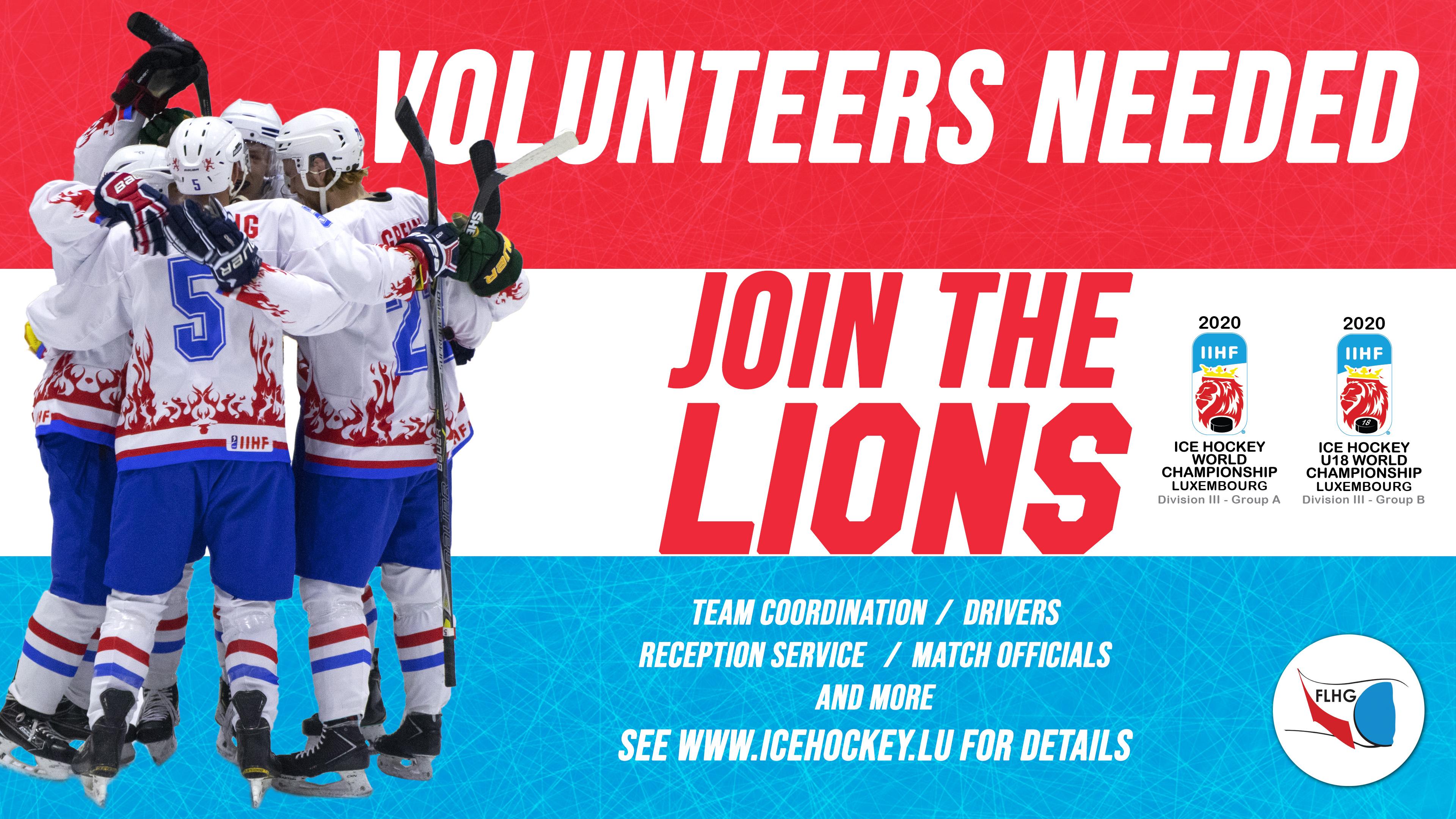Recherchons des volontaires / Volunteers needed