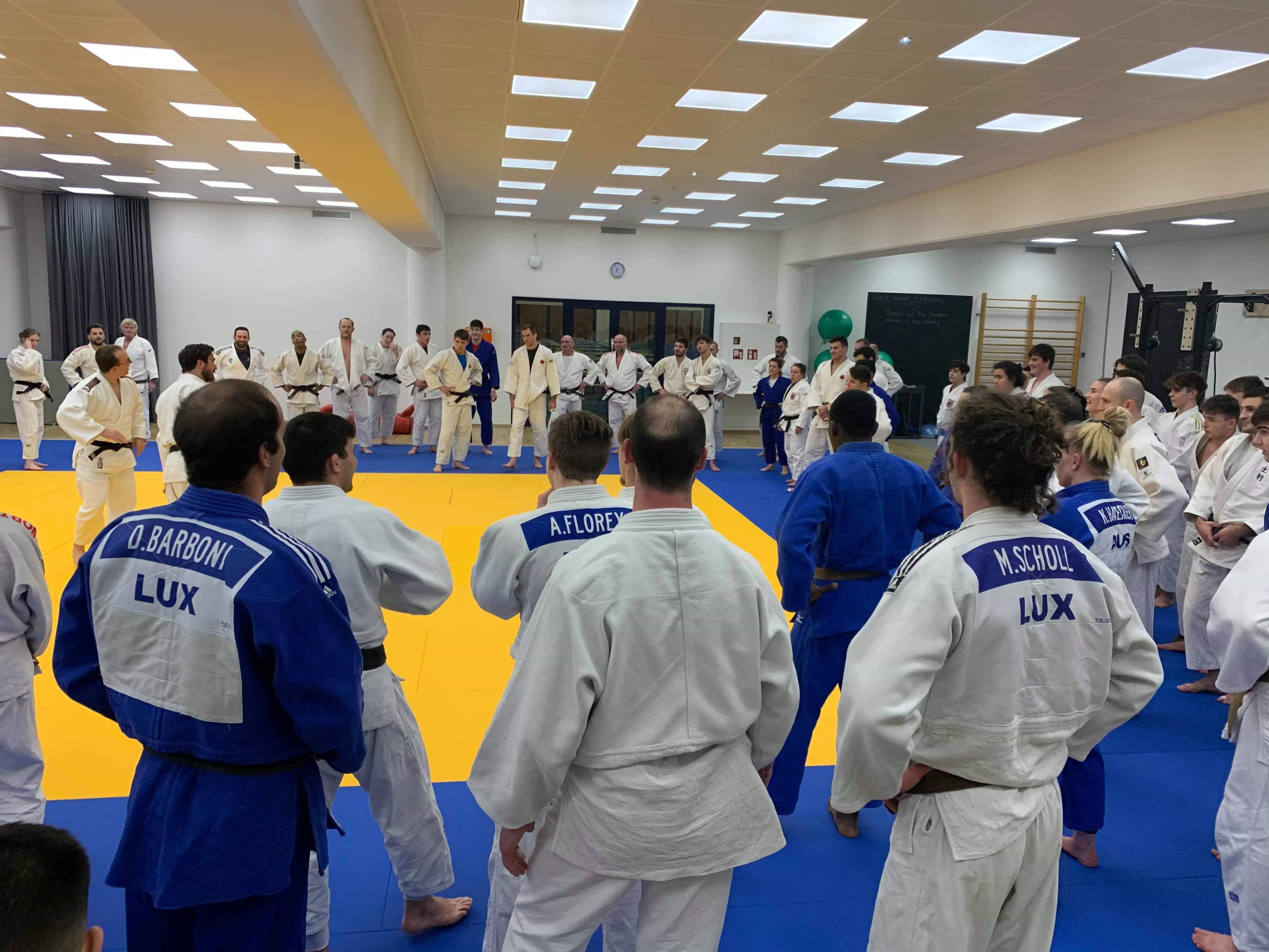 Interreg Judo Training - Luxembourg 19.02.2020