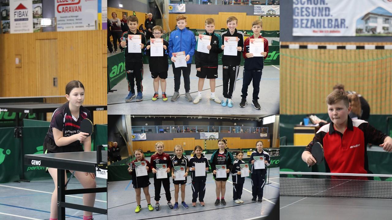 TTVSA Top 8 Turnier 4. Platz für Jared, 5. Platz für Albina