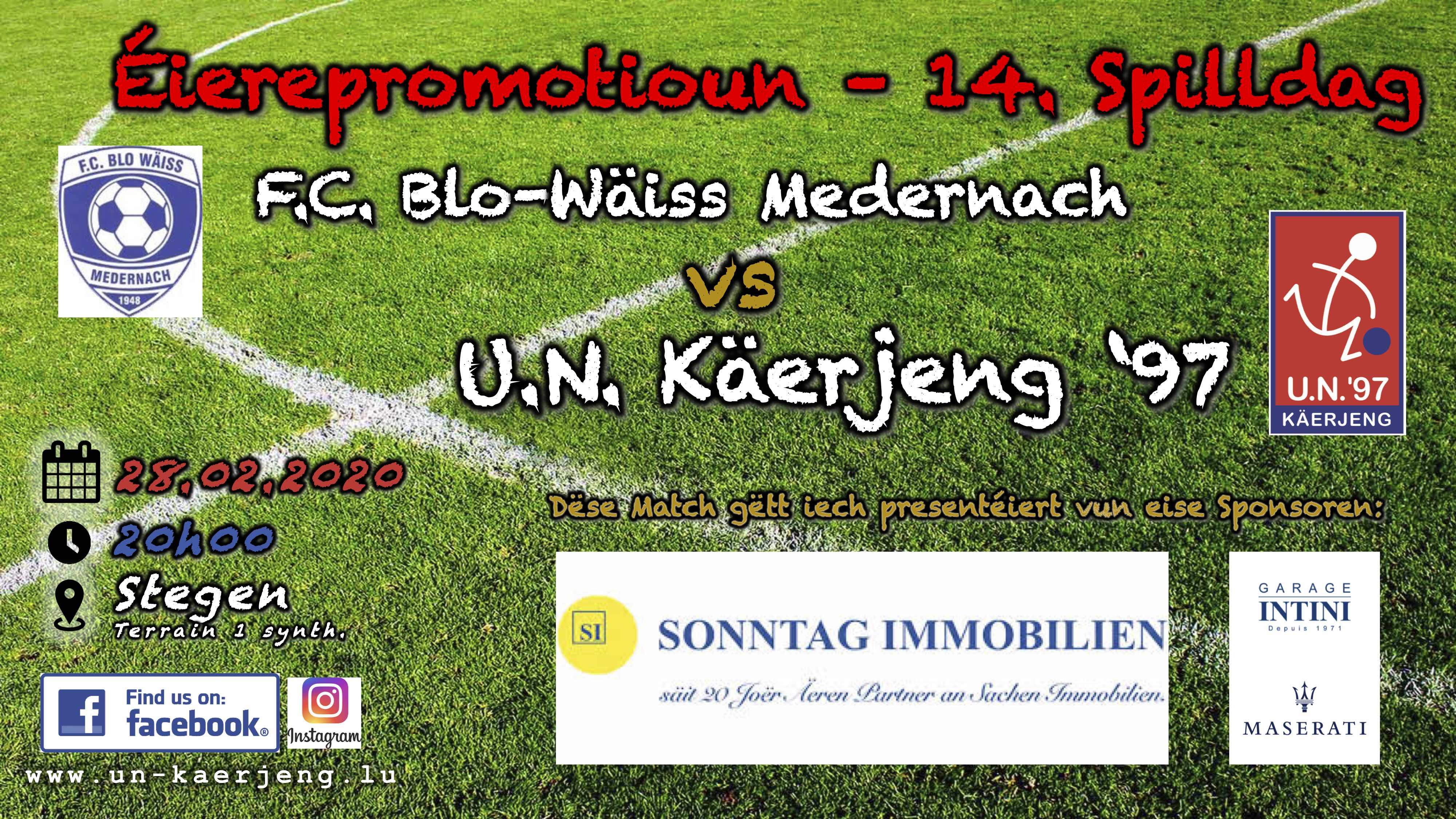 *** Miedernach - UNK ***