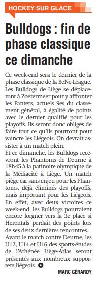 La Meuse 29 février 2020