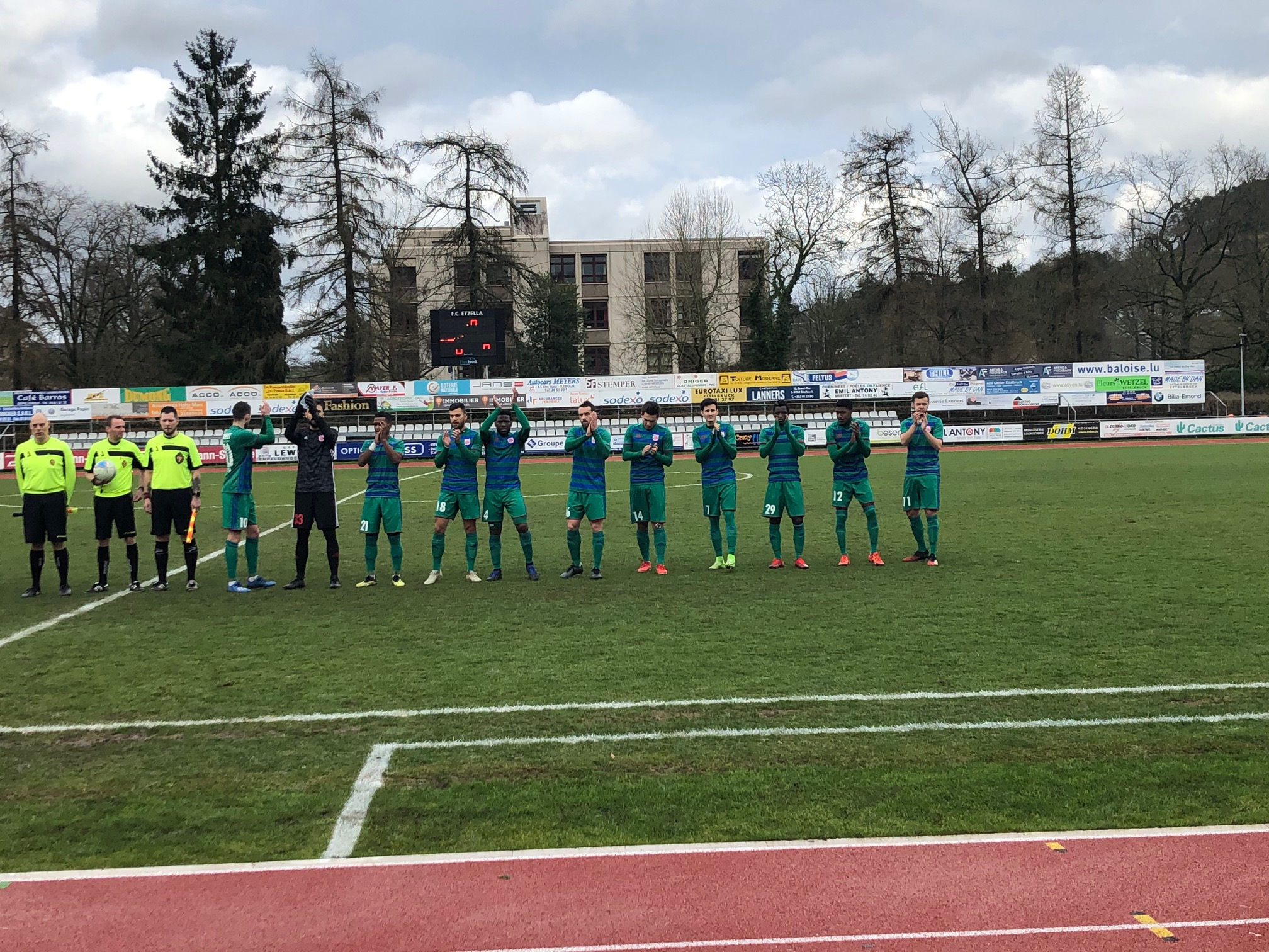 Etzella Ettelbruck - CS FOLA 0-1 (1e but officiel de Zach Hadji)