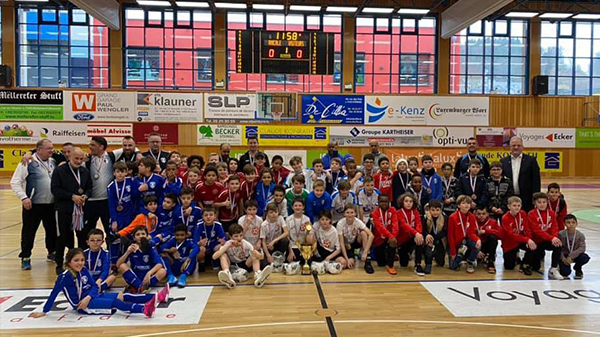 LaLux Indoor: Poussins sinn Vize-Champion!