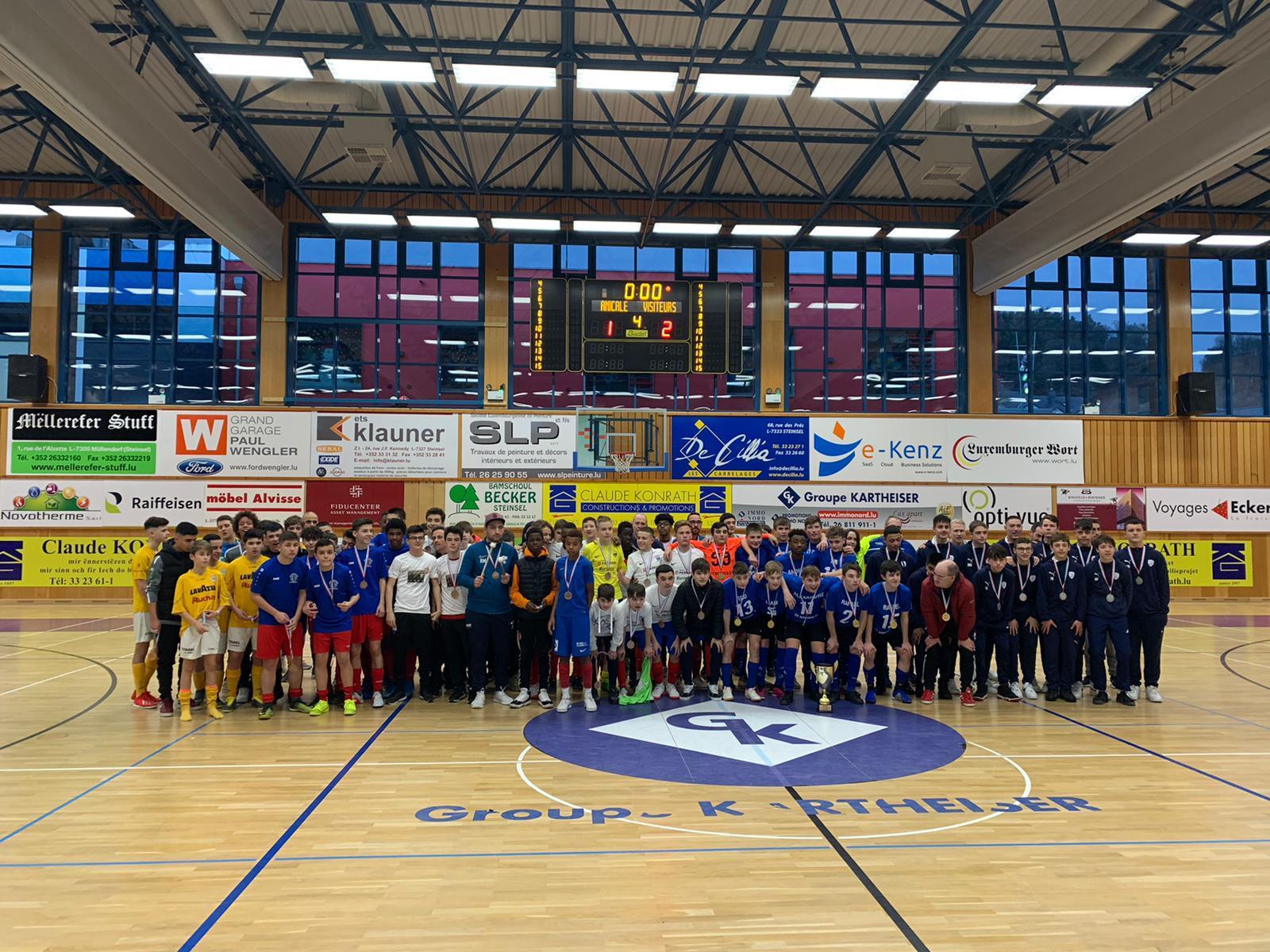 Championnat Lalux Futsal saison 2019 - 2020 SCOLAIRE