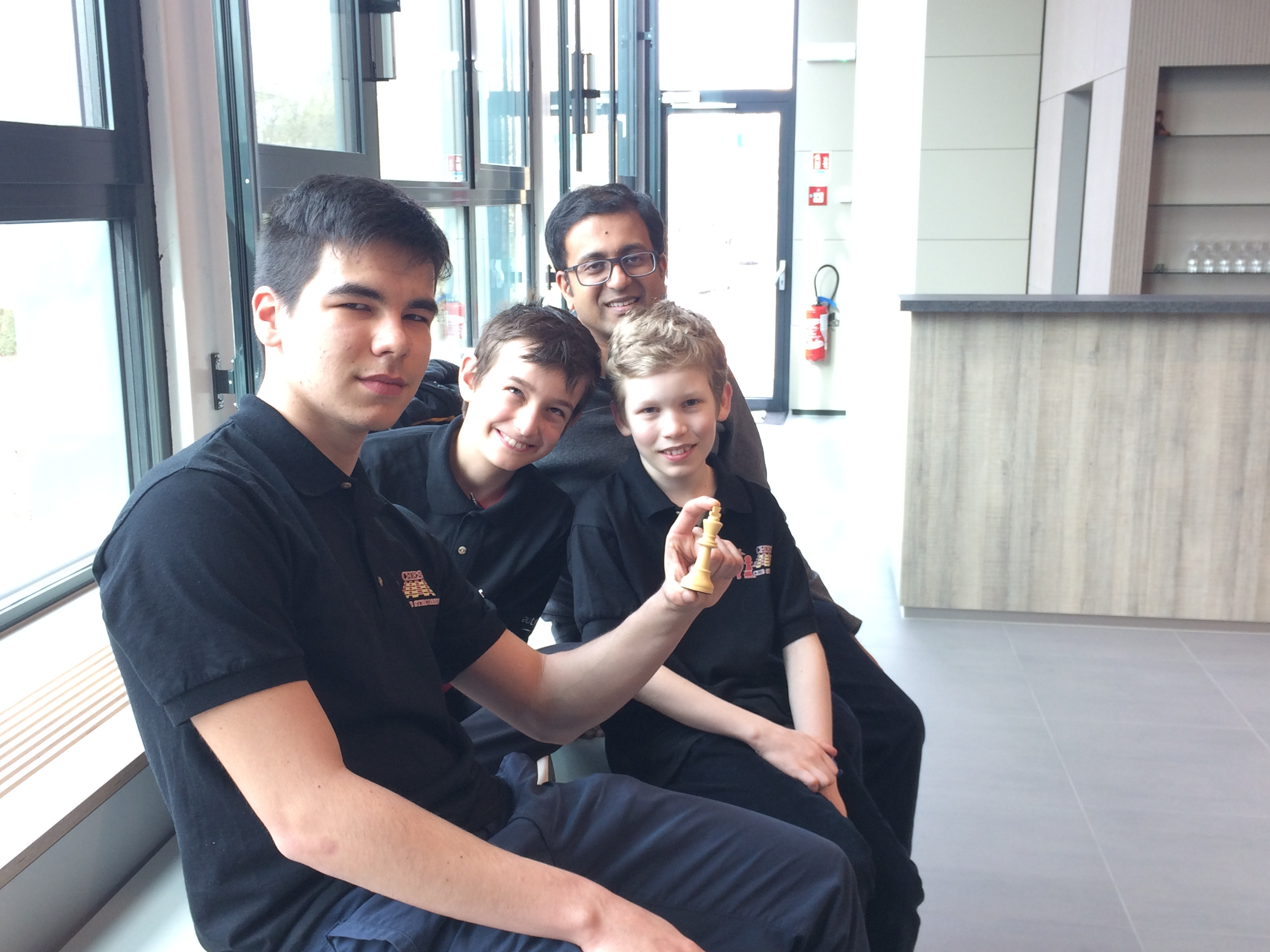 Chess: Interclubs: 7th straight win for Strassen !