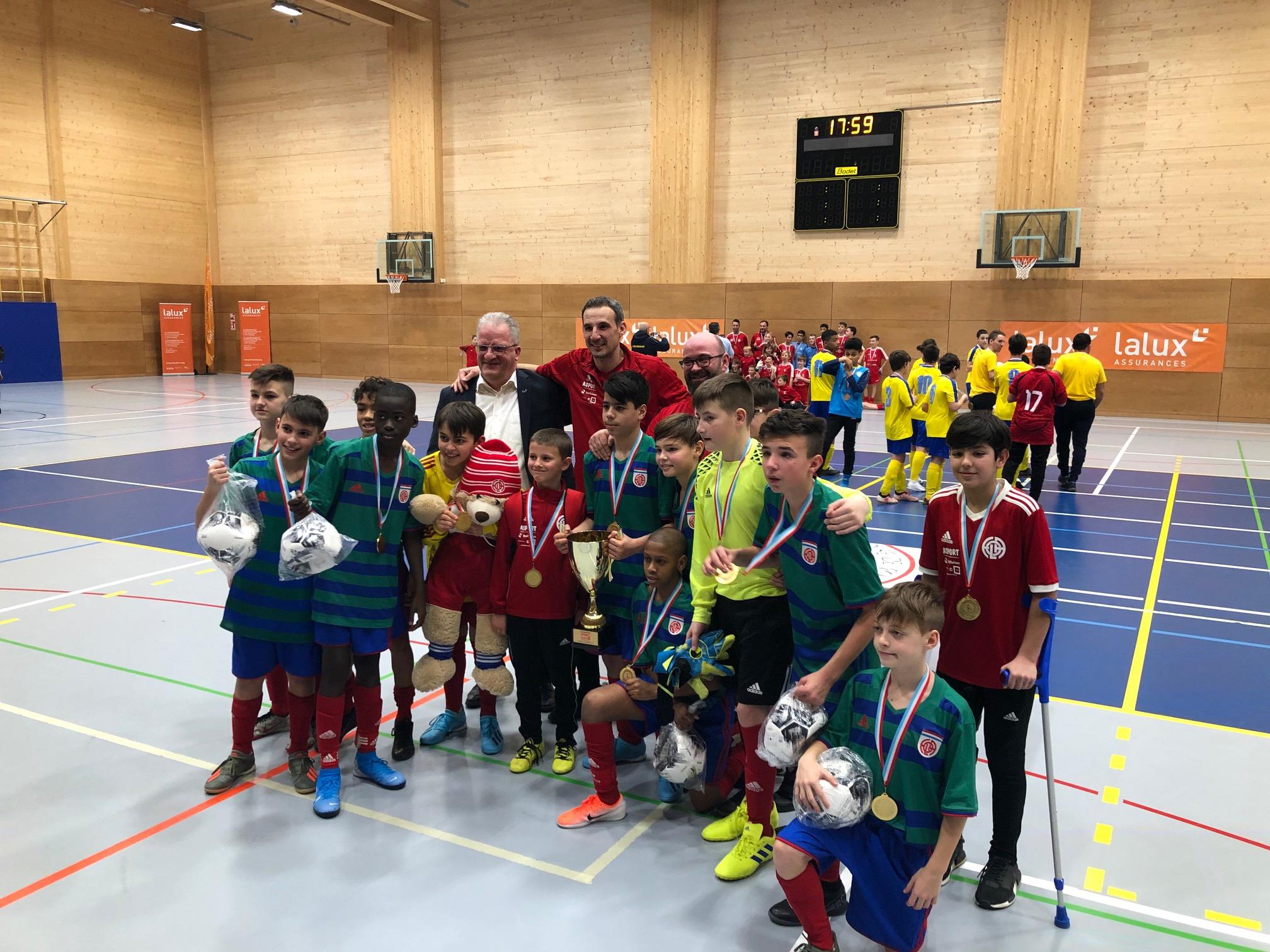CS FOLA champion Lalux équipe minimes: bravoooo aux joueurs, staff et supporters