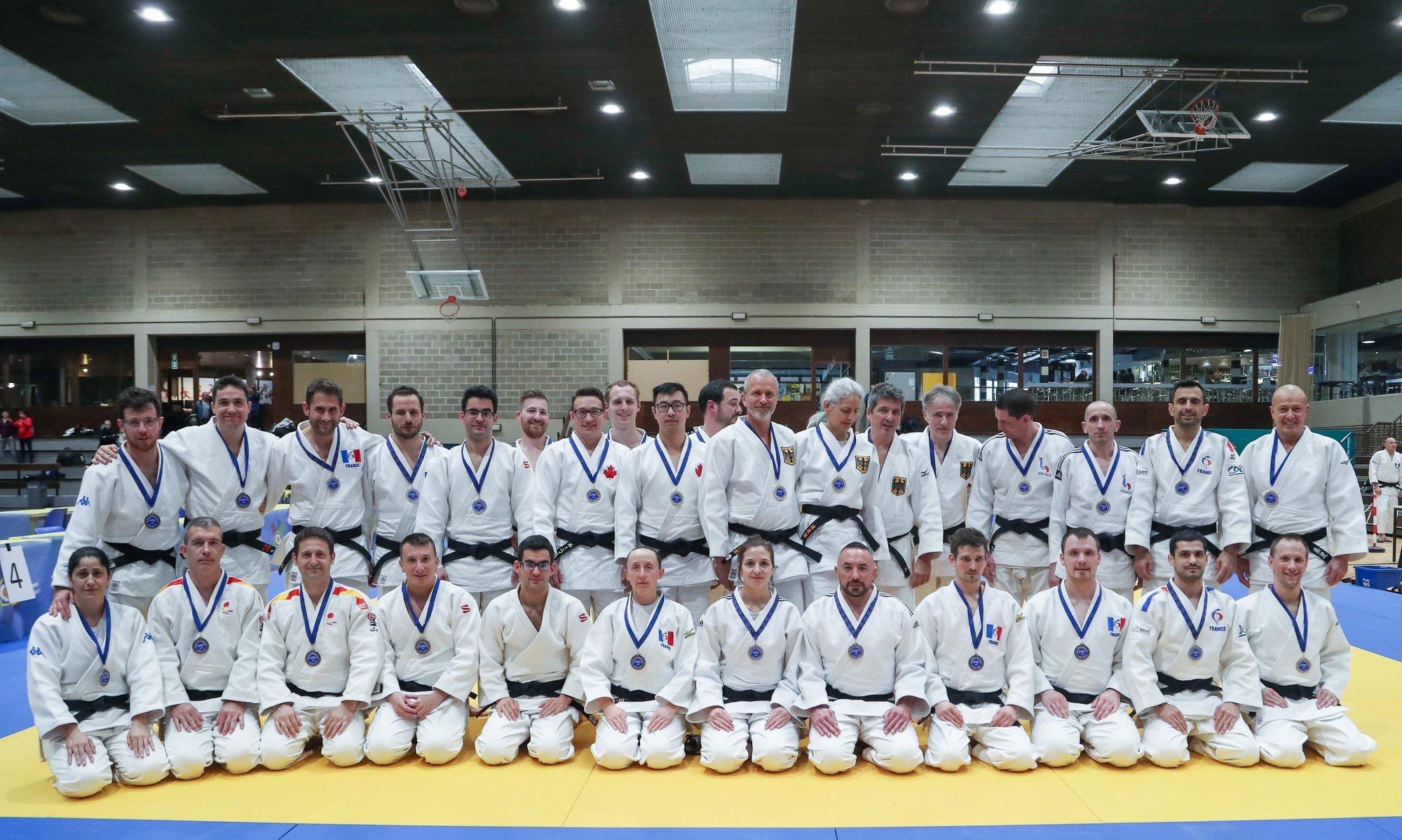 Interreg Judo Kata Team - EJU Kata Tournament Marcel Clause 29.02-01.03.2020