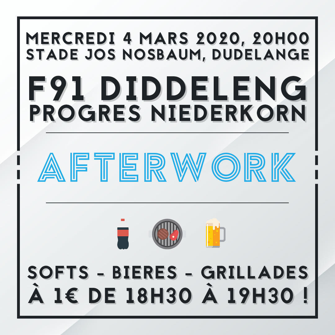 4.03.2020 F91 Diddeleng - Progres Niederkorn