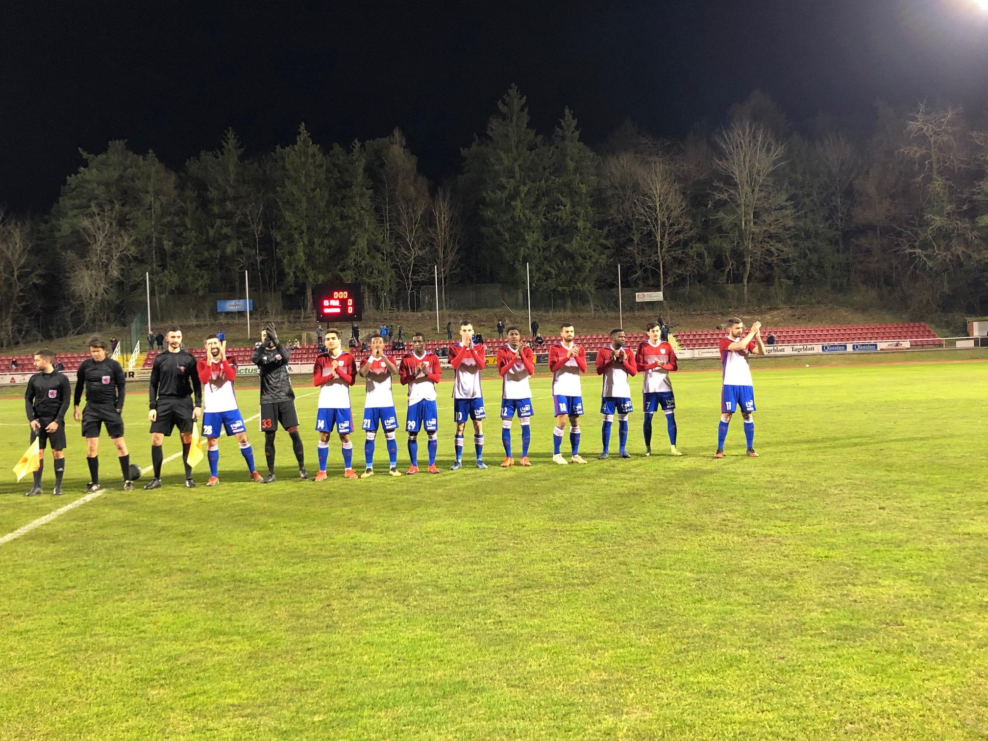 Belle victoire : CS FOLA - Muhlenbach 4-2