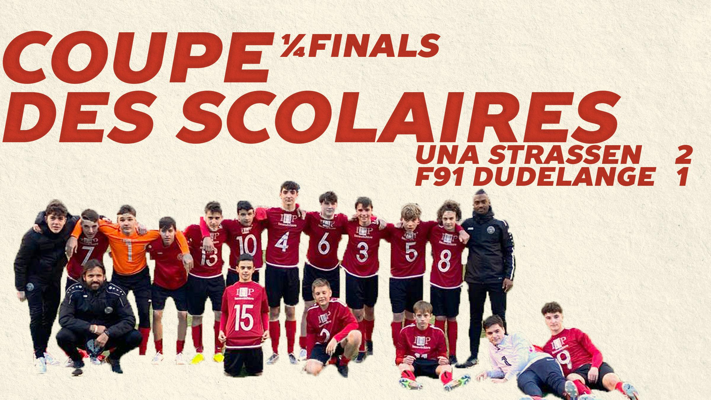 Résultats Jeunes — Coupe de Luxembourg
