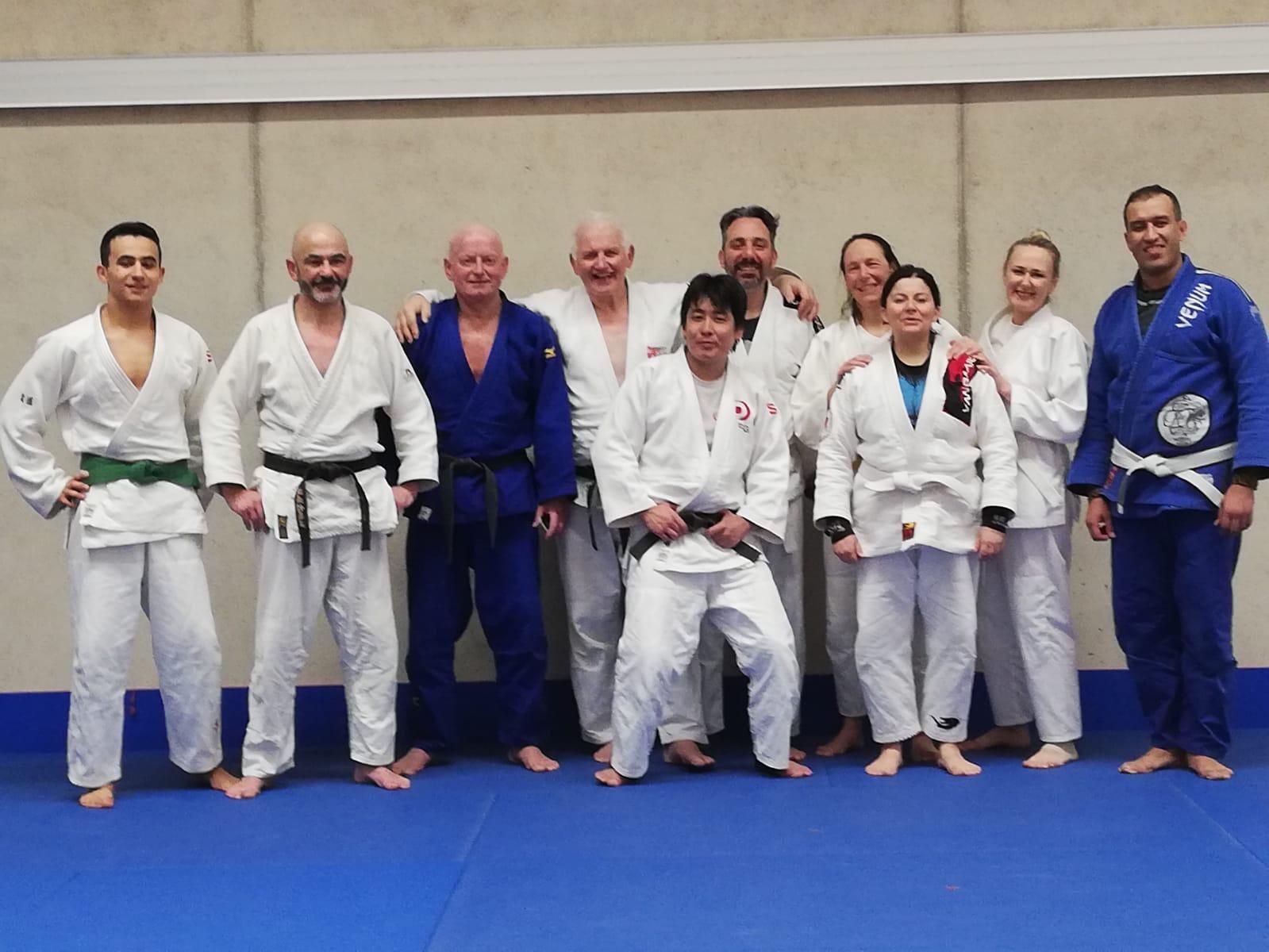 Interreg Judo Training Veterans - Strassen 06.03.2020