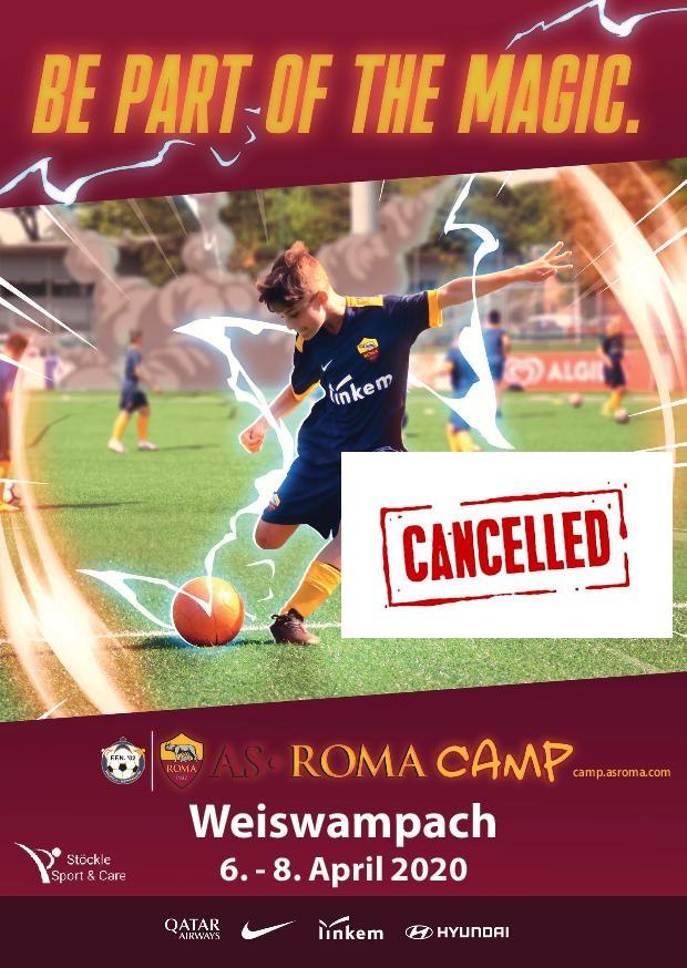 Annulatioun AS Roma Camp