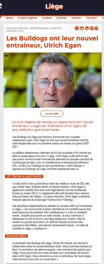 La Meuse web 1er avril 2020