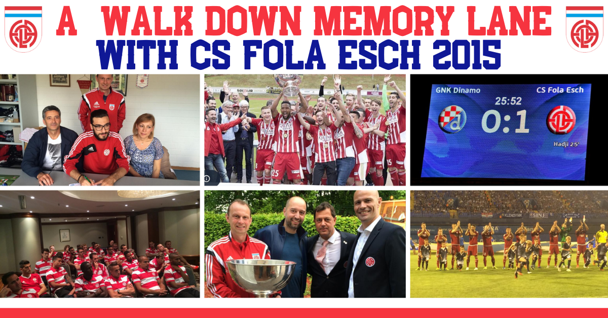 FOLA NOSTALGIC PHOTO CHALLENGE: J6 YEAR 2015: Champion du Luxembourg. Photos please