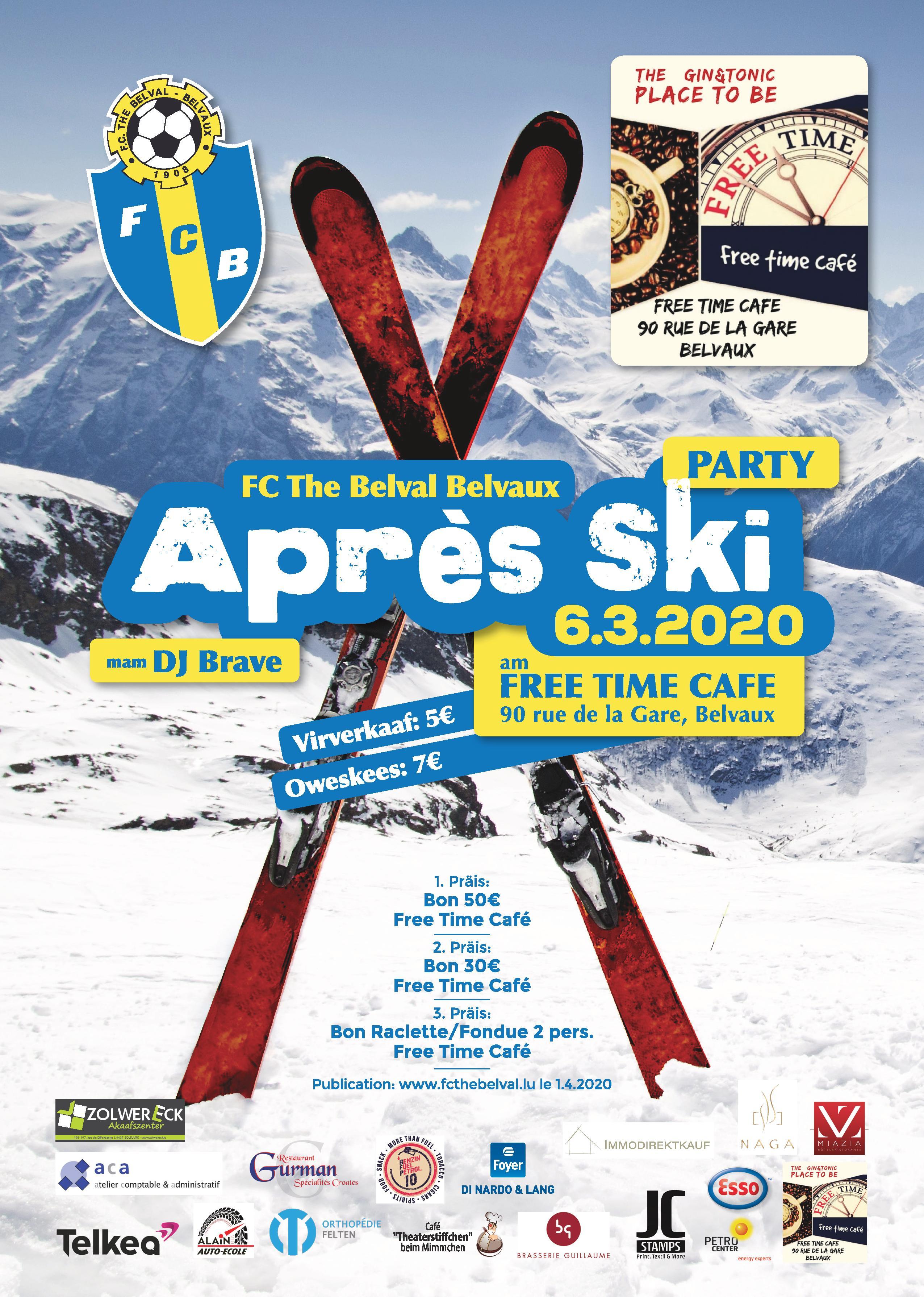 Tirage Tombola Après Ski Party