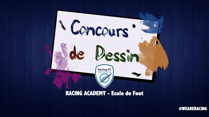 Racing Academy - Pôle Ecole de foot - Concours Dessin