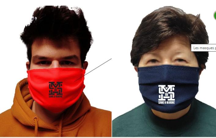 Des masques pour nos jeunes