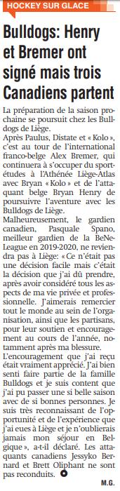 La Meuse du 30 avril 2020