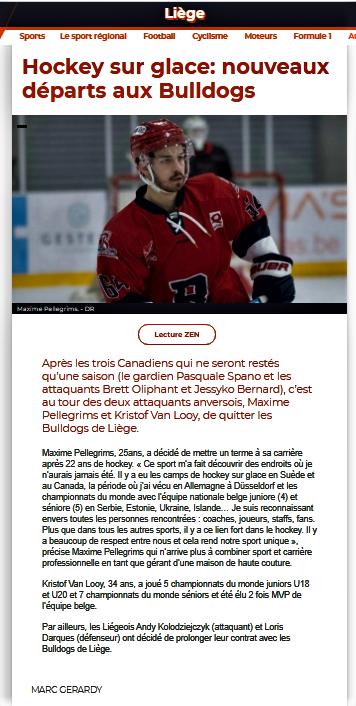 La Meuse web 6 mai 2020