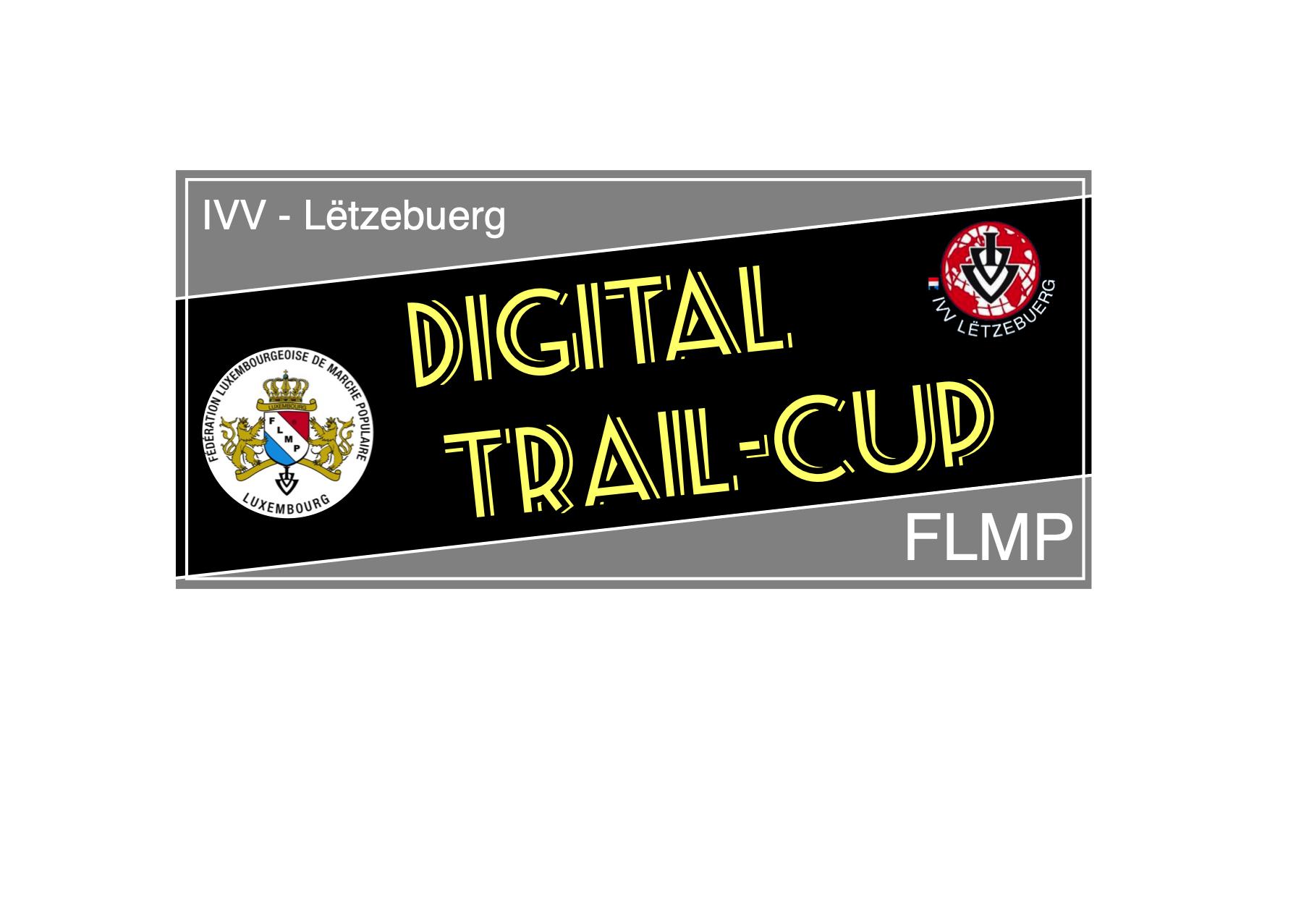 Et ass eng absolut Premiere : Den eischten Digitalen-Trail-Cup !