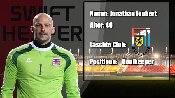 Transfer: Jonathan Joubert