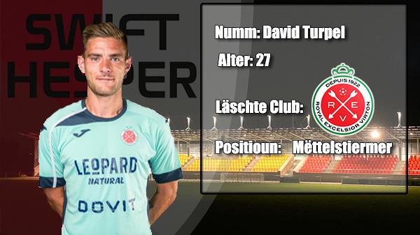Transfer: David Turpel