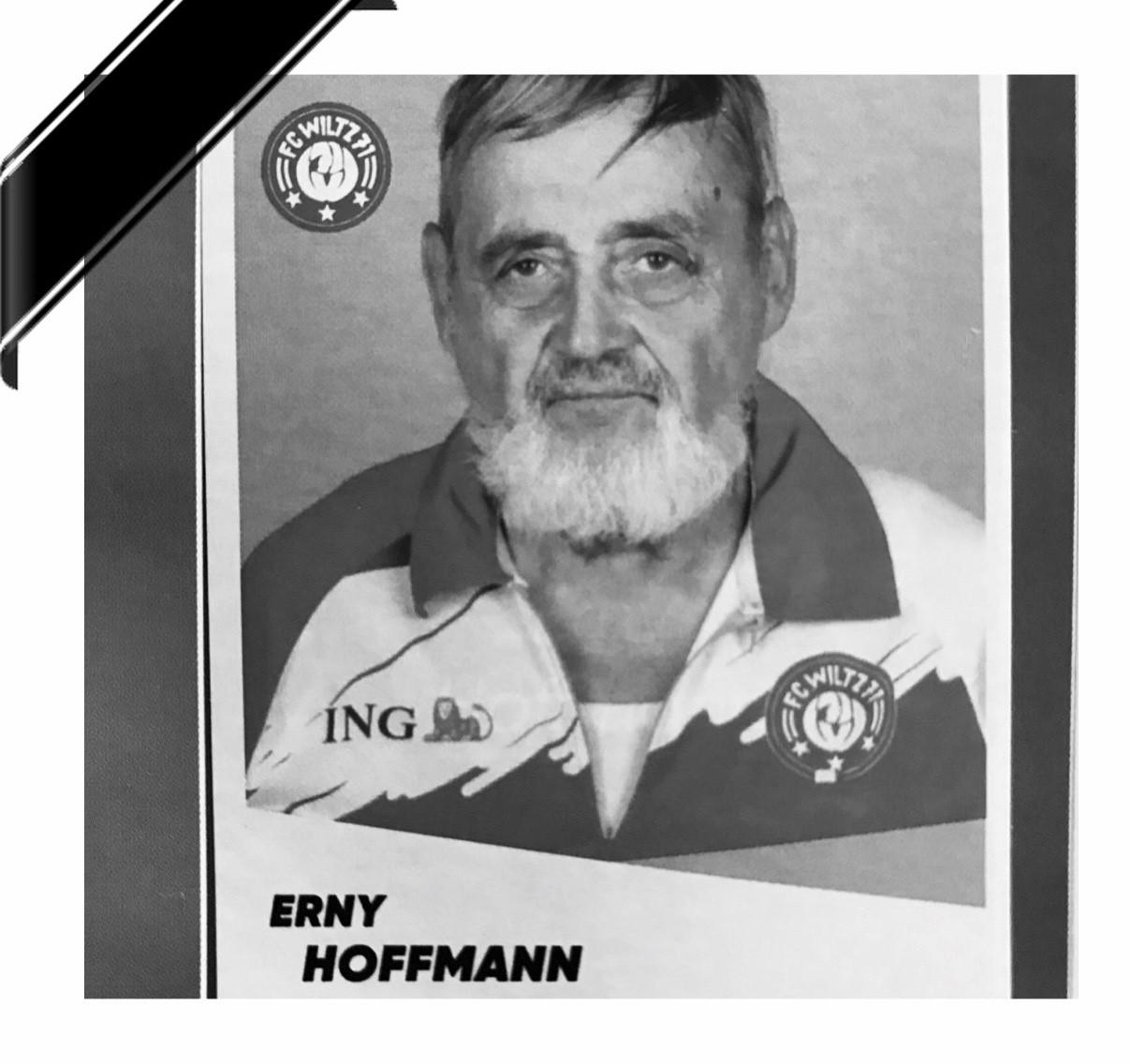 Den Erny Hoffmann, de Bénévole par excellence, ass dout