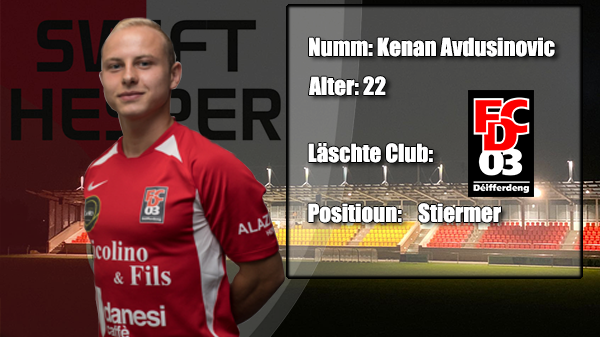 Transfer: Kenan Avdusinovic