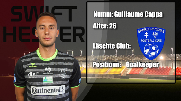 Transfer: Guillaume Cappa
