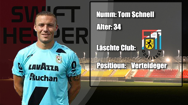 Transfer: Tom Schnell