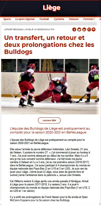 La Meuse web 19 mai 2020