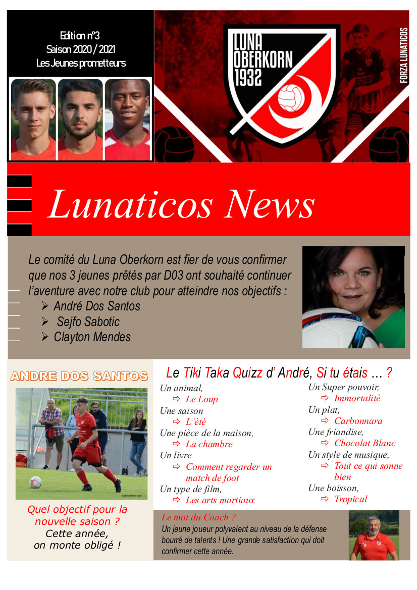Lunaticos News #3