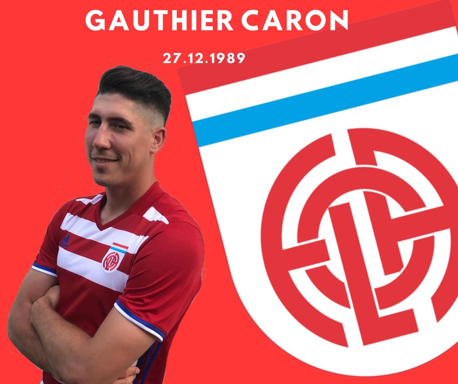 Gauthier Caron prolonge son contrat au FOLA pour 2 saisons de plus