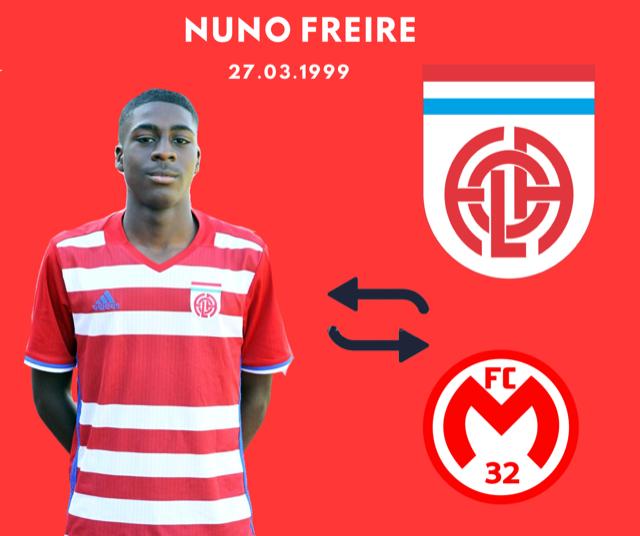 Après 2 saisons à Remich (D1), Nuno adhère définitivement à Mamer (PH): bonne chance Nuno