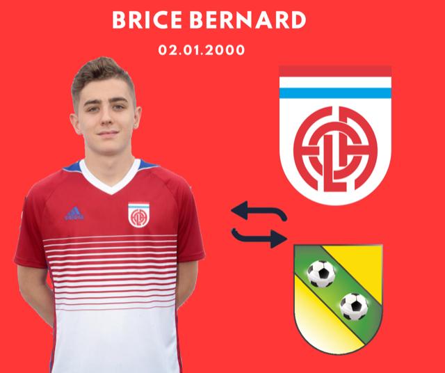 Brice jouera 1 année en promotion d'honneur chez nos voisins de Schifflange: bonne chance Brice
