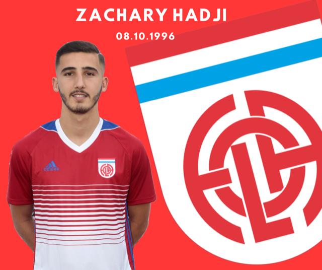 Zachary Hadji a prolongé son bail au FOLA pour 1 saison