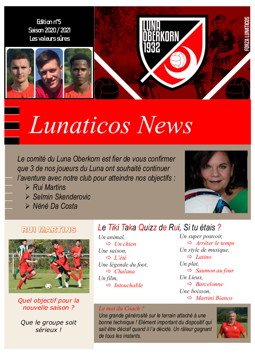 Lunaticos News #5