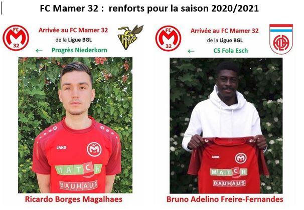 FC Mamer32  -  saison 2020/2021  -  seniors I