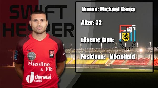 Transfer: Mickael Garos