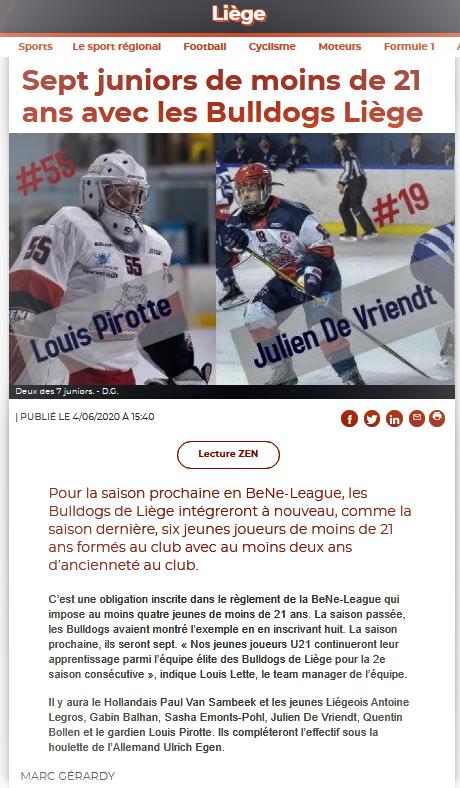 La Meuse web du 4 juin 2020