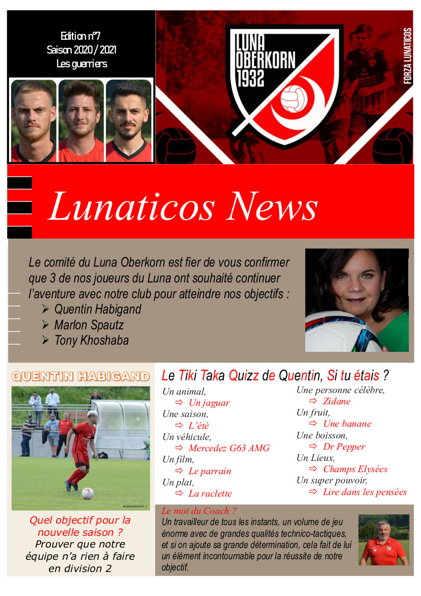 Lunaticos News #7