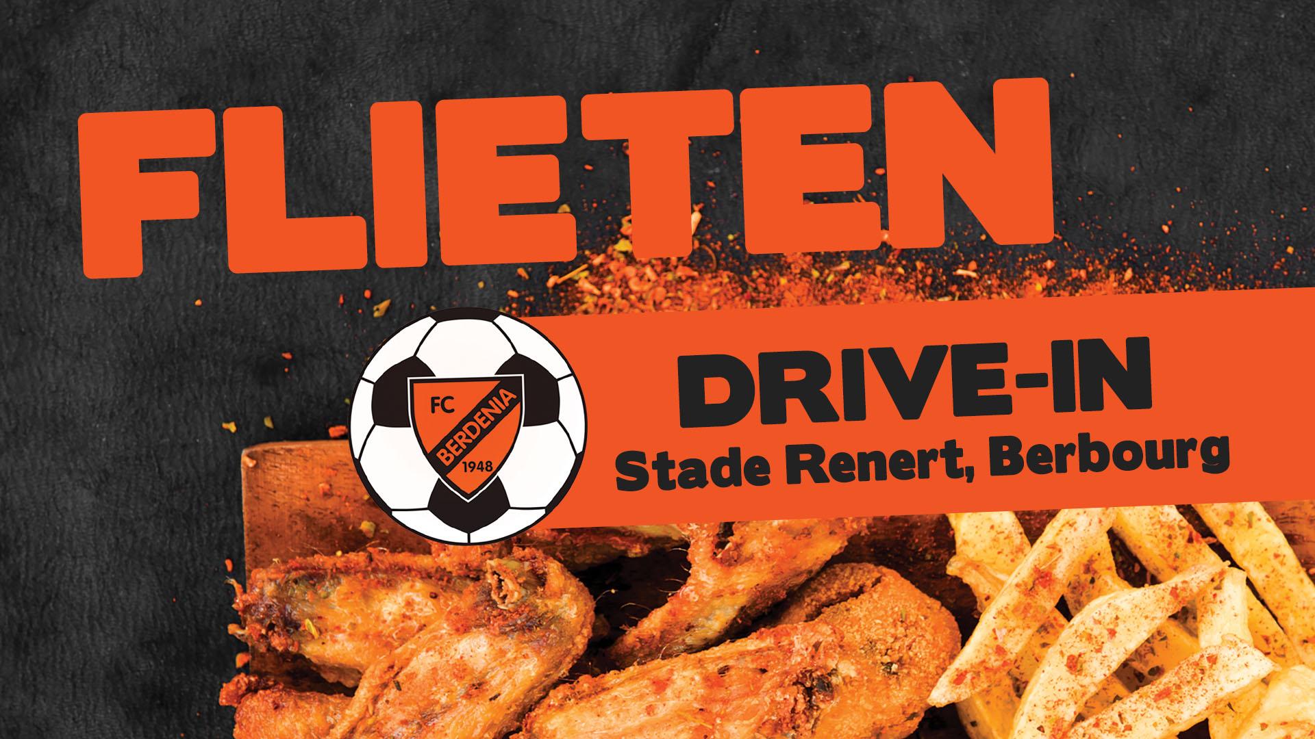 Flieten DRIVE-IN de 4. Juli am Stade Renert