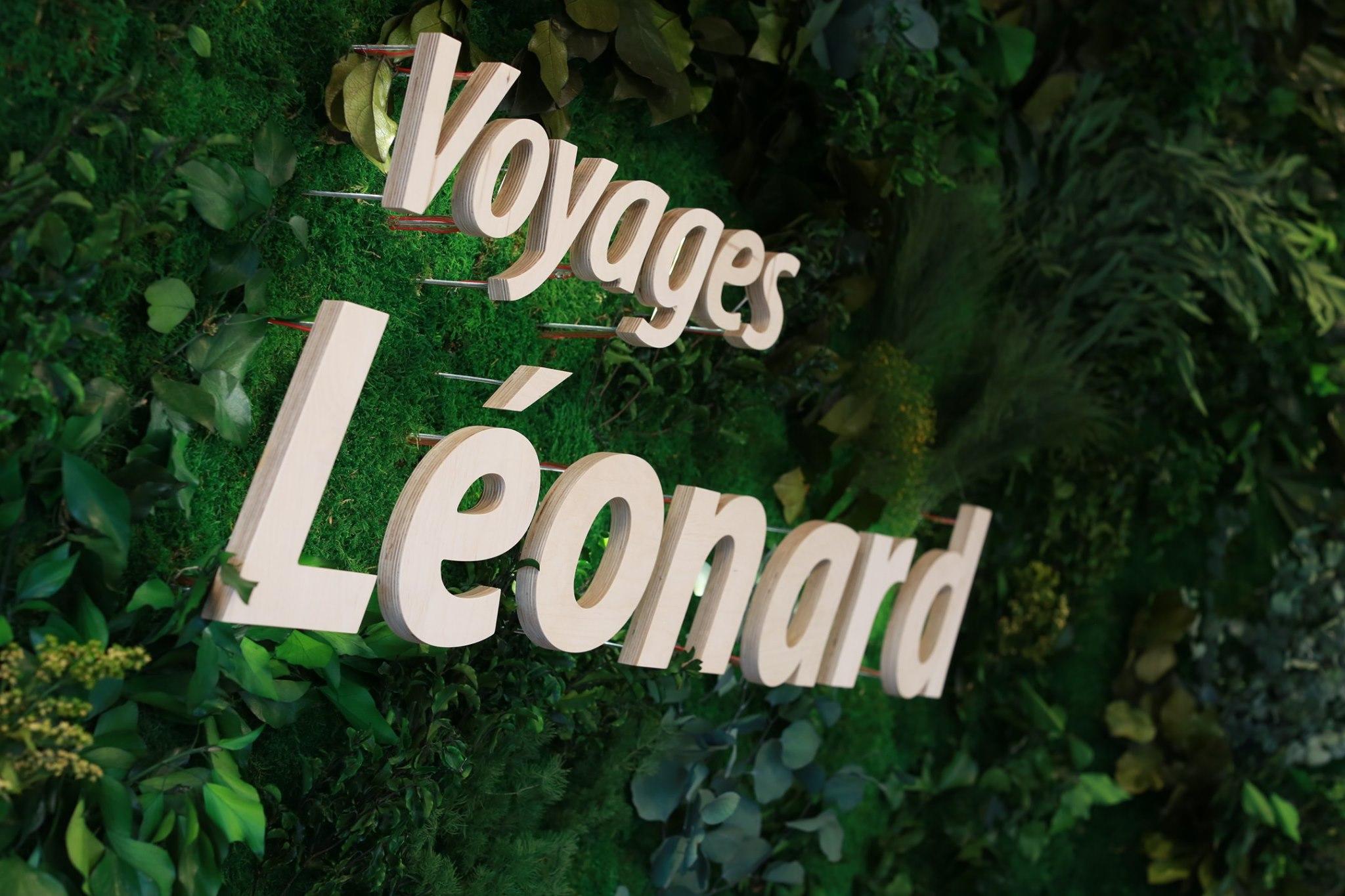 Les Bulldogs soutiennent leurs sponsors - Voyages Léonard